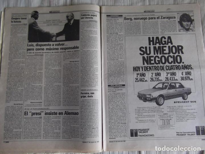 Coleccionismo deportivo: MARCA-1987-Nº14018-32 PAG-HUGO SANCHEZ-ZUBIZARRETA-MIGUELI-BUTRAGUEÑO-VICTOR-CHENDO-SOLA - Foto 8 - 21148985