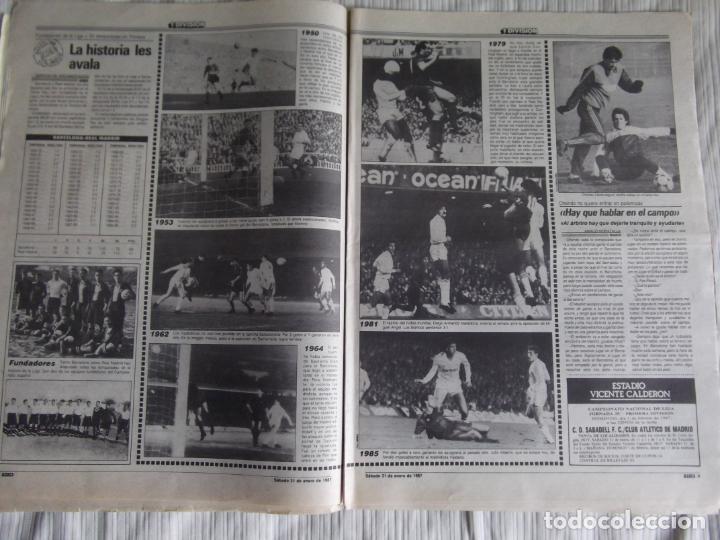 Coleccionismo deportivo: MARCA-1987-Nº14018-32 PAG-HUGO SANCHEZ-ZUBIZARRETA-MIGUELI-BUTRAGUEÑO-VICTOR-CHENDO-SOLA - Foto 9 - 21148985