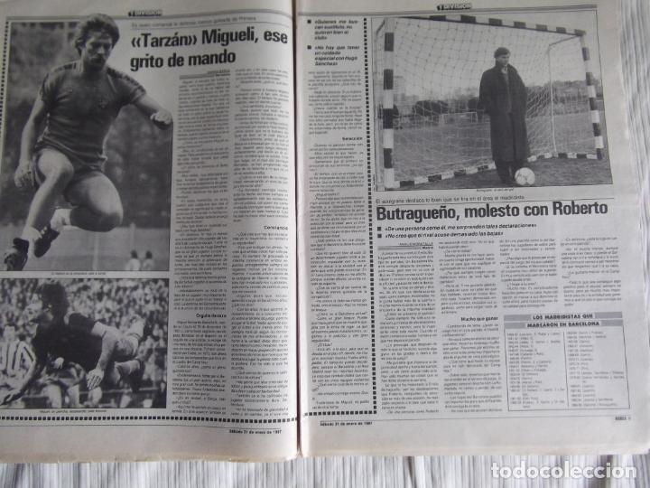 Coleccionismo deportivo: MARCA-1987-Nº14018-32 PAG-HUGO SANCHEZ-ZUBIZARRETA-MIGUELI-BUTRAGUEÑO-VICTOR-CHENDO-SOLA - Foto 10 - 21148985