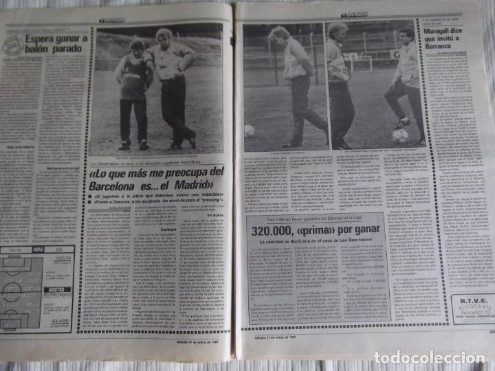 Coleccionismo deportivo: MARCA-1987-Nº14018-32 PAG-HUGO SANCHEZ-ZUBIZARRETA-MIGUELI-BUTRAGUEÑO-VICTOR-CHENDO-SOLA - Foto 12 - 21148985