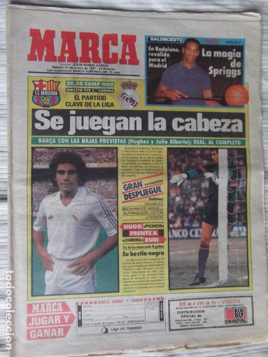 Coleccionismo deportivo: MARCA-1987-Nº14018-32 PAG-HUGO SANCHEZ-ZUBIZARRETA-MIGUELI-BUTRAGUEÑO-VICTOR-CHENDO-SOLA - Foto 13 - 21148985
