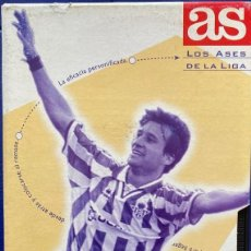 Coleccionismo deportivo: VHS UNICO INTERNET ALFONSO PERIODICO DEPORTIVO AS LOS ASES DE LA LIGA AQUITIENESLOQUEBUSCA ALMERIA. Lote 210303912