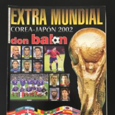 Collectionnisme sportif: FÚTBOL DON BALÓN EXTRA 58 - MUNDIAL COREA JAPÓN 2002 - ESPAÑA AS MARCA ALBUM CROMO SPORT. Lote 210308718