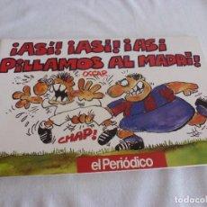 Coleccionismo deportivo: (LLL)LIBRO COMICO DE ÓSCAR-! ASI,ASI,ASI PILLAMOS AL MADRI ! F.C.BARCELONA TEMPORADA 1991-92 BARÇA. Lote 210444842