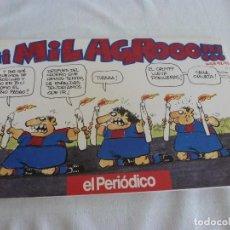 Coleccionismo deportivo: (LLL)LIBRO COMICO DE ÓSCAR-! MILAGROOOO ! F.C.BARCELONA TEMPORADA 1992-93 BARÇA. Lote 210445146