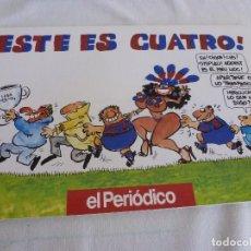 Coleccionismo deportivo: (LLL)LIBRO COMICO DE ÓSCAR-! ESTE ES CUATRO ! F.C.BARCELONA TEMPORADA 1993-94 BARÇA. Lote 210445420