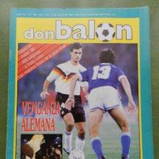 Coleccionismo deportivo: REVISTA DON BALON Nº 768 ESPECIAL MUNDIAL ITALIA 90 - POSTER ALEMANIA ARGENTINA WORLD CUP 1990. Lote 210470813