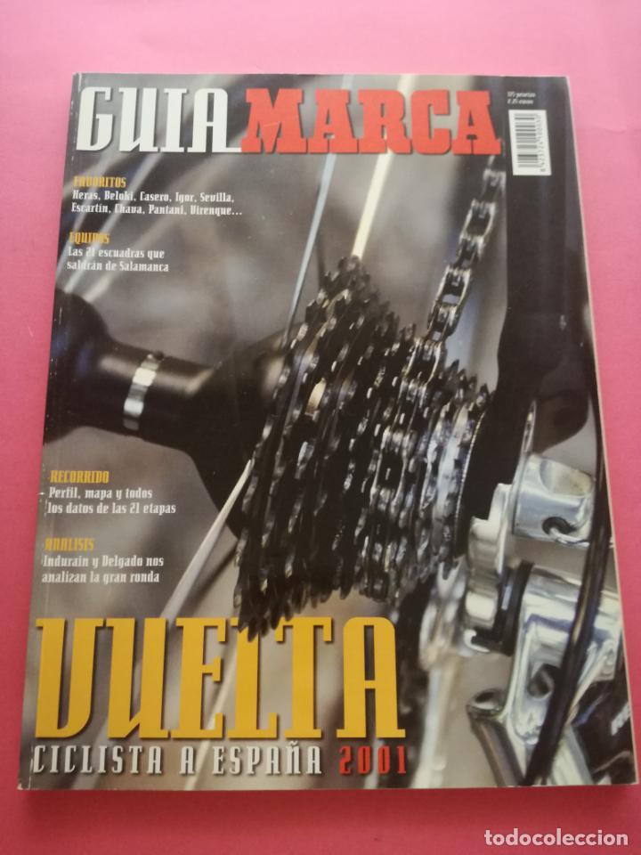 REVISTA SUPLEMENTO ESPECIAL MARCA GUIA VUELTA A ESPAÑA 2001 - EXTRA CICLISMO 01 (Coleccionismo Deportivo - Revistas y Periódicos - Marca)
