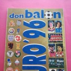 Collectionnisme sportif: EXTRA DON BALON EURO 96 REVISTA ESPECIAL GUIA EUROCOPA INGLATERRA 1996 UEFA FUTBOL GUIDE EC ENGLAND. Lote 210477918