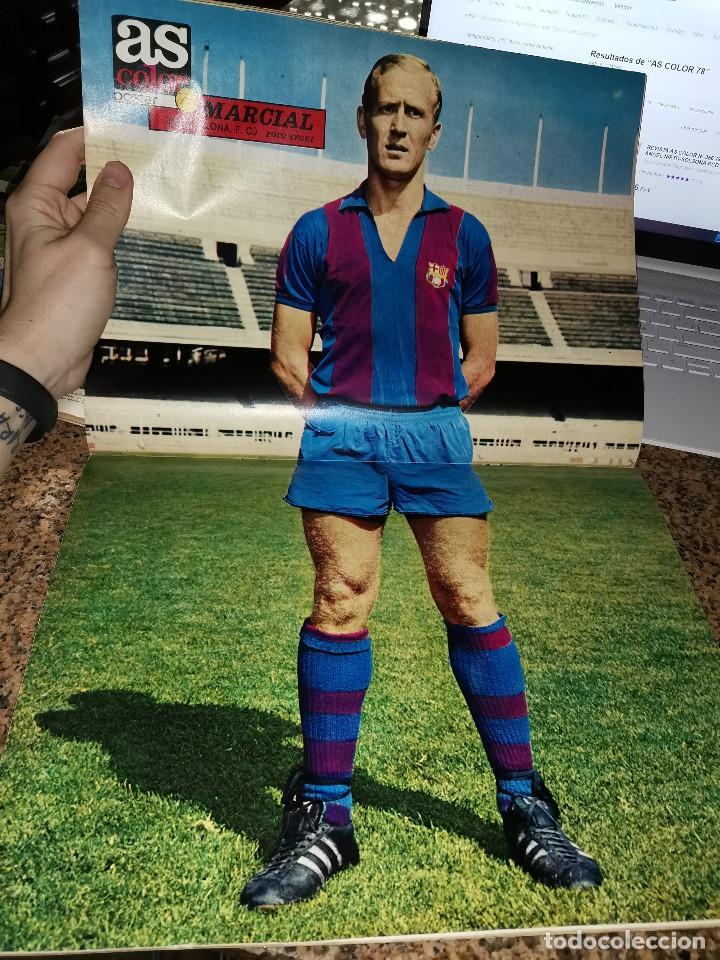 Coleccionismo deportivo: OCASION COLECCIONISTAS ! REVISTA AS COLOR FUTBOL NUMERO 78 1972 POSTER MARCIAL F.C BARCELONA - Foto 2 - 210482877