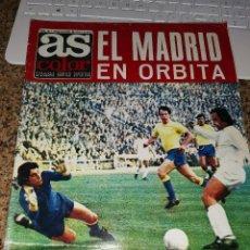 Collectionnisme sportif: OCASION COLECCIONISTAS ! REVISTA AS COLOR FUTBOL NUMERO 131 1973 POSTER REAL SOCIEDAD. Lote 210486038