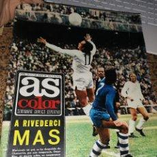 Coleccionismo deportivo: OCASION COLECCIONISTAS ! REVISTA AS COLOR NUMERO 155 1974 POSTER CENTRAL SEAT 132. Lote 210487210