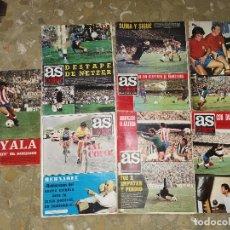 Coleccionismo deportivo: LOTE REVISTAS AS COLOR 1972 NUMEROS 75 , 103 , 113, 123, 130, 150 Y 199. Lote 210488470