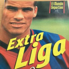 Coleccionismo deportivo: EXTRA LIGA 98/99 + POSTER - MUNDO DEPORTIVO-. Lote 210544915