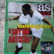 Coleccionismo deportivo: AS COLOR 536 POSTER HUGO SÁNCHEZ. Lote 210554467
