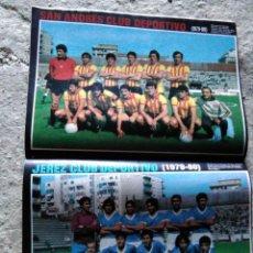 Coleccionismo deportivo: AS COLOR 440 POSTER JEREZ Y SAN ANDRES 1979-80. Lote 210555055