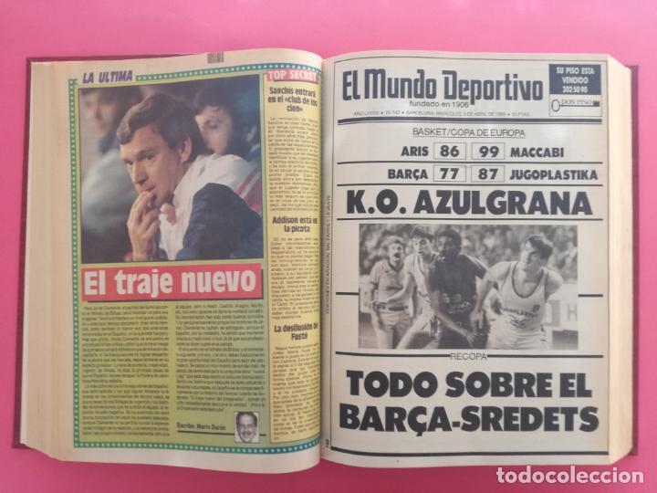 Coleccionismo deportivo: DIARIO SPORT TEMPORADA 88/89 FC BARCELONA CAMPEON RECOPA 1988/1989 TOMO 15 PERIODICOS BARÇA CRUYFF - Foto 7 - 210590177