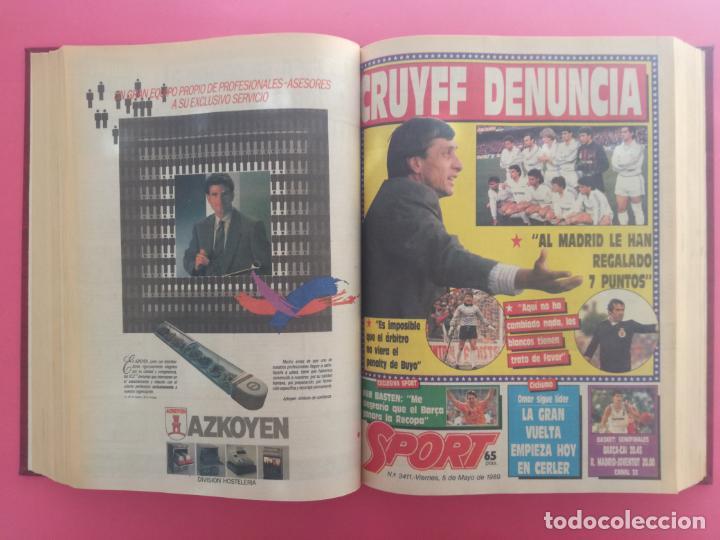 Coleccionismo deportivo: DIARIO SPORT TEMPORADA 88/89 FC BARCELONA CAMPEON RECOPA 1988/1989 TOMO 15 PERIODICOS BARÇA CRUYFF - Foto 9 - 210590177
