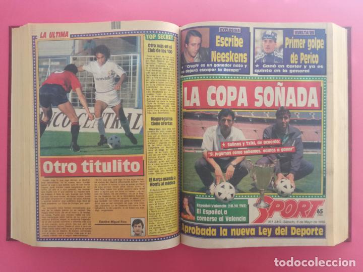 Coleccionismo deportivo: DIARIO SPORT TEMPORADA 88/89 FC BARCELONA CAMPEON RECOPA 1988/1989 TOMO 15 PERIODICOS BARÇA CRUYFF - Foto 10 - 210590177