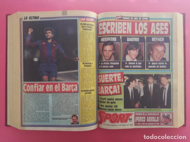 Coleccionismo deportivo: DIARIO SPORT TEMPORADA 88/89 FC BARCELONA CAMPEON RECOPA 1988/1989 TOMO 15 PERIODICOS BARÇA CRUYFF - Foto 12 - 210590177
