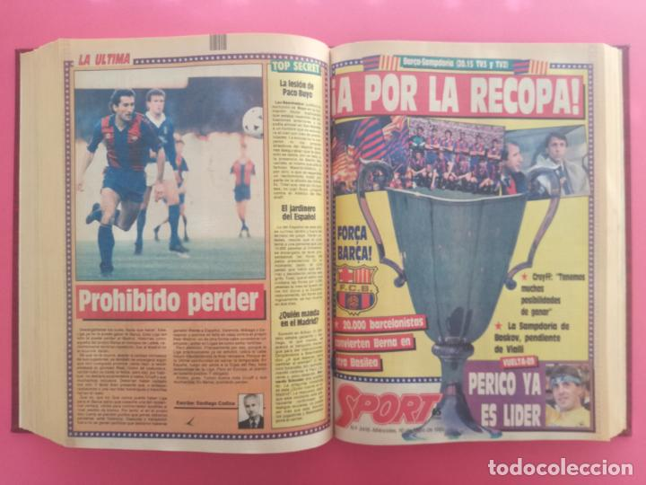 Coleccionismo deportivo: DIARIO SPORT TEMPORADA 88/89 FC BARCELONA CAMPEON RECOPA 1988/1989 TOMO 15 PERIODICOS BARÇA CRUYFF - Foto 13 - 210590177