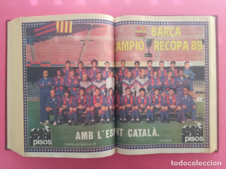Coleccionismo deportivo: DIARIO SPORT TEMPORADA 88/89 FC BARCELONA CAMPEON RECOPA 1988/1989 TOMO 15 PERIODICOS BARÇA CRUYFF - Foto 15 - 210590177