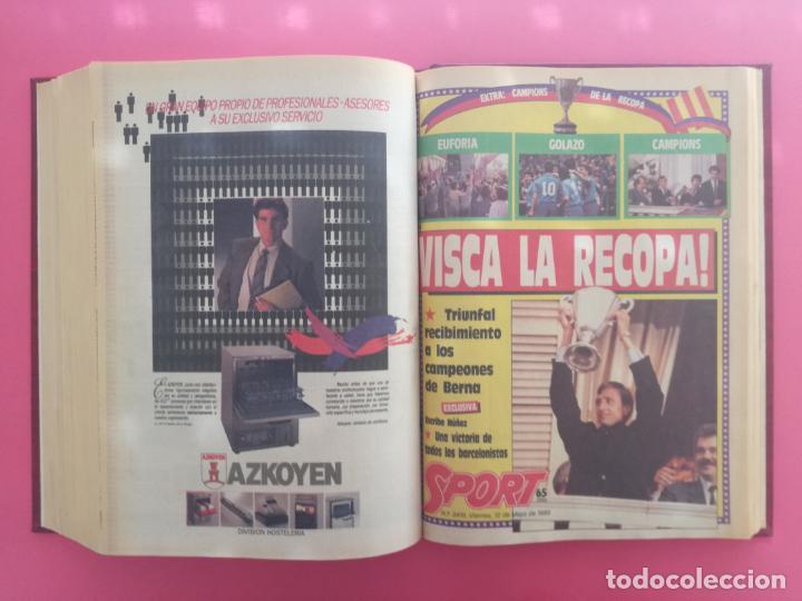 Coleccionismo deportivo: DIARIO SPORT TEMPORADA 88/89 FC BARCELONA CAMPEON RECOPA 1988/1989 TOMO 15 PERIODICOS BARÇA CRUYFF - Foto 16 - 210590177