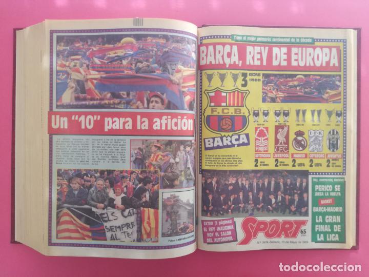 Coleccionismo deportivo: DIARIO SPORT TEMPORADA 88/89 FC BARCELONA CAMPEON RECOPA 1988/1989 TOMO 15 PERIODICOS BARÇA CRUYFF - Foto 17 - 210590177