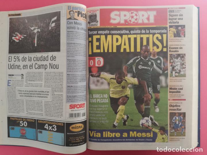 Coleccionismo deportivo: TOMO 19 PERIODICOS DIARIO SPORT TEMPORADA 05/06 FC BARCELONA CAMPEON CHAMPIONS 2005/2006 BARÇA - Foto 5 - 210594608