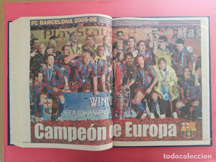Coleccionismo deportivo: TOMO 19 PERIODICOS DIARIO SPORT TEMPORADA 05/06 FC BARCELONA CAMPEON CHAMPIONS 2005/2006 BARÇA - Foto 21 - 210594608