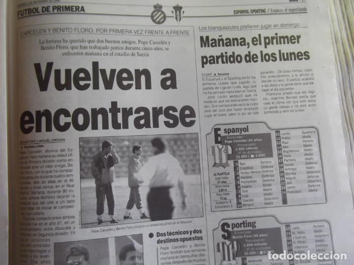 Coleccionismo deportivo: MARCA-1996-Nº17407-44 PAG-TOSHACK-CAPELLO-ROBERTO CARLOS-BODO ILLGNER-ROBSON-ROMARIO-ARAGONES-CAMINE - Foto 4 - 23618613