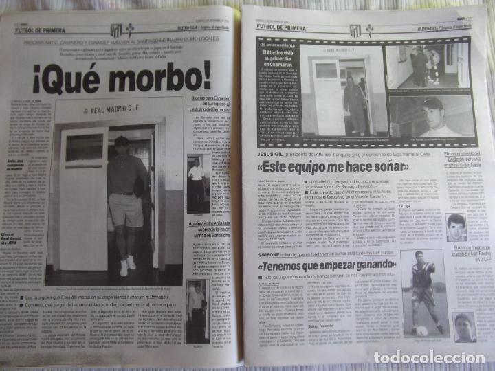 Coleccionismo deportivo: MARCA-1996-Nº17407-44 PAG-TOSHACK-CAPELLO-ROBERTO CARLOS-BODO ILLGNER-ROBSON-ROMARIO-ARAGONES-CAMINE - Foto 10 - 23618613