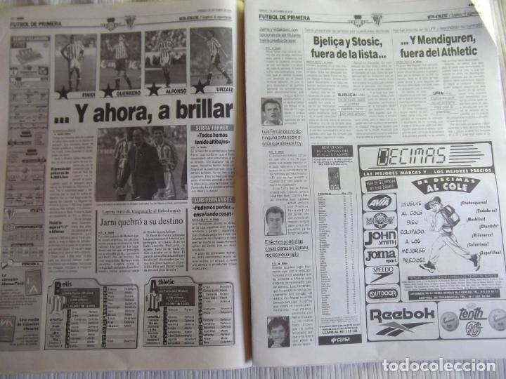 Coleccionismo deportivo: MARCA-1996-Nº17407-44 PAG-TOSHACK-CAPELLO-ROBERTO CARLOS-BODO ILLGNER-ROBSON-ROMARIO-ARAGONES-CAMINE - Foto 11 - 23618613