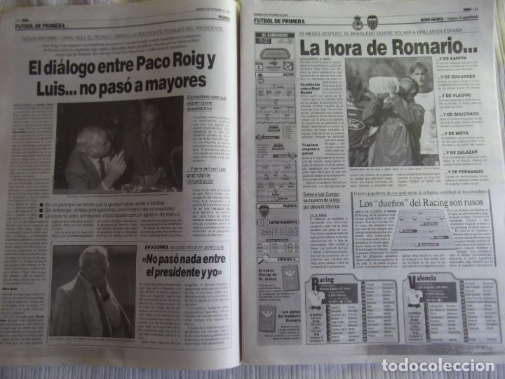 Coleccionismo deportivo: MARCA-1996-Nº17407-44 PAG-TOSHACK-CAPELLO-ROBERTO CARLOS-BODO ILLGNER-ROBSON-ROMARIO-ARAGONES-CAMINE - Foto 13 - 23618613