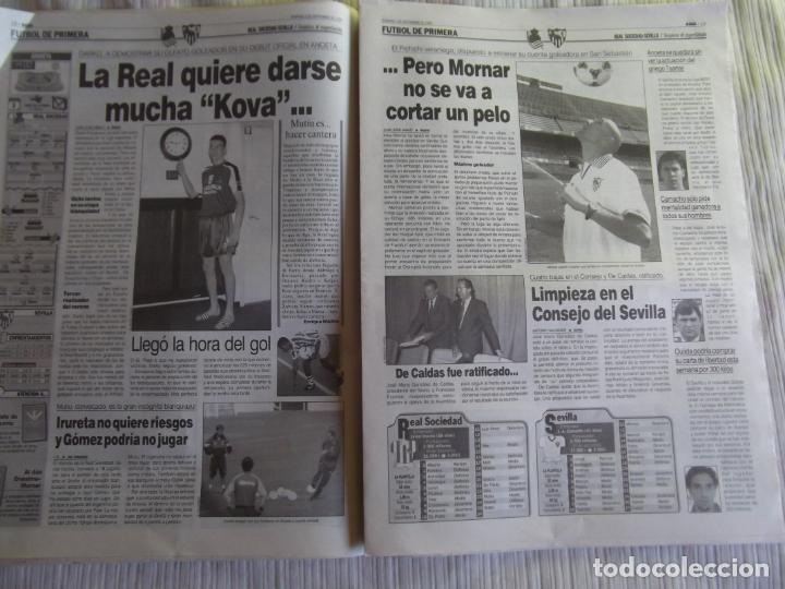 Coleccionismo deportivo: MARCA-1996-Nº17407-44 PAG-TOSHACK-CAPELLO-ROBERTO CARLOS-BODO ILLGNER-ROBSON-ROMARIO-ARAGONES-CAMINE - Foto 16 - 23618613