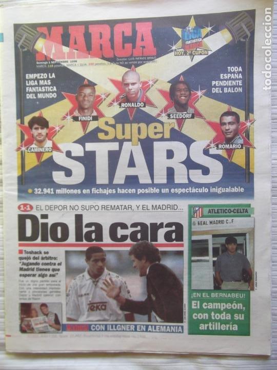 Coleccionismo deportivo: MARCA-1996-Nº17407-44 PAG-TOSHACK-CAPELLO-ROBERTO CARLOS-BODO ILLGNER-ROBSON-ROMARIO-ARAGONES-CAMINE - Foto 20 - 23618613