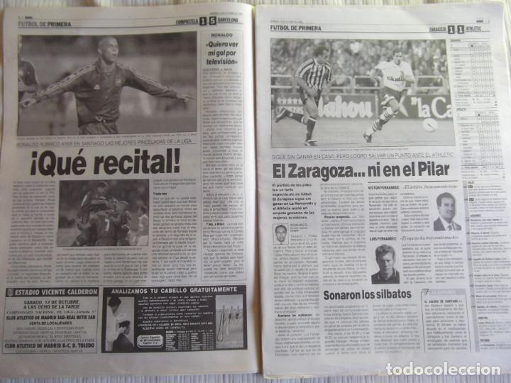Coleccionismo deportivo: MARCA-1996-Nº17448-48 PAGINAS-RONALDO-ANTIC-SERRA FERRER-ESNAIDER-SANTI DENIA-F. VAZQUEZ-ROBSON - Foto 3 - 23618670