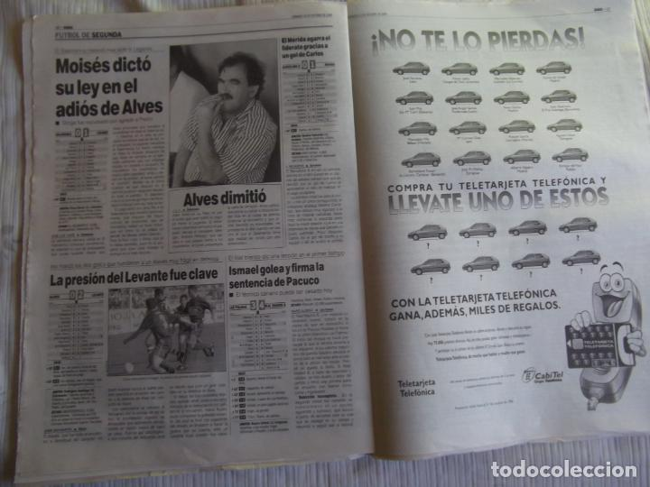 Coleccionismo deportivo: MARCA-1996-Nº17448-48 PAGINAS-RONALDO-ANTIC-SERRA FERRER-ESNAIDER-SANTI DENIA-F. VAZQUEZ-ROBSON - Foto 5 - 23618670