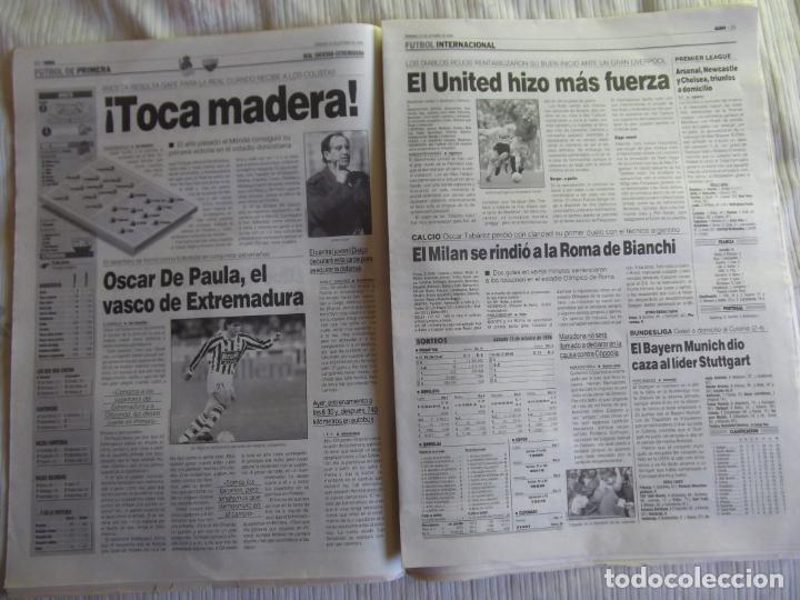 Coleccionismo deportivo: MARCA-1996-Nº17448-48 PAGINAS-RONALDO-ANTIC-SERRA FERRER-ESNAIDER-SANTI DENIA-F. VAZQUEZ-ROBSON - Foto 7 - 23618670