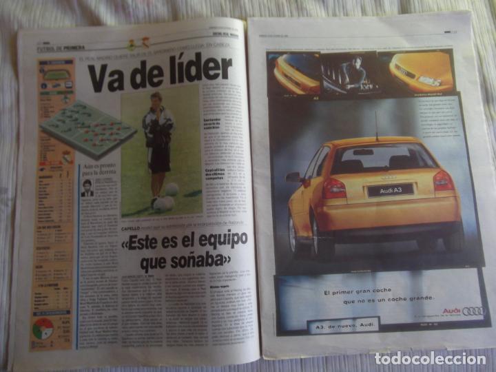Coleccionismo deportivo: MARCA-1996-Nº17448-48 PAGINAS-RONALDO-ANTIC-SERRA FERRER-ESNAIDER-SANTI DENIA-F. VAZQUEZ-ROBSON - Foto 11 - 23618670