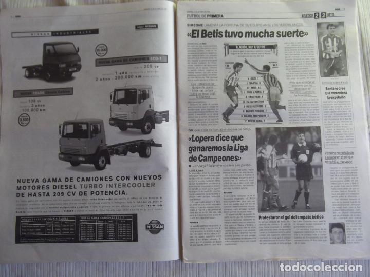 Coleccionismo deportivo: MARCA-1996-Nº17448-48 PAGINAS-RONALDO-ANTIC-SERRA FERRER-ESNAIDER-SANTI DENIA-F. VAZQUEZ-ROBSON - Foto 12 - 23618670