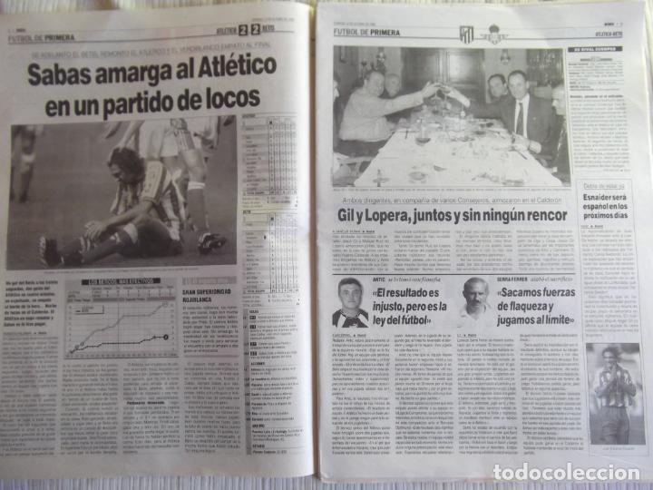 Coleccionismo deportivo: MARCA-1996-Nº17448-48 PAGINAS-RONALDO-ANTIC-SERRA FERRER-ESNAIDER-SANTI DENIA-F. VAZQUEZ-ROBSON - Foto 13 - 23618670