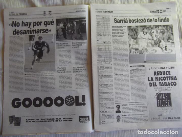 Coleccionismo deportivo: MARCA-1996-Nº17448-48 PAGINAS-RONALDO-ANTIC-SERRA FERRER-ESNAIDER-SANTI DENIA-F. VAZQUEZ-ROBSON - Foto 14 - 23618670