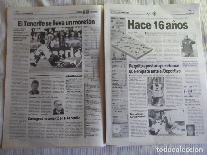 Coleccionismo deportivo: MARCA-1996-Nº17448-48 PAGINAS-RONALDO-ANTIC-SERRA FERRER-ESNAIDER-SANTI DENIA-F. VAZQUEZ-ROBSON - Foto 16 - 23618670