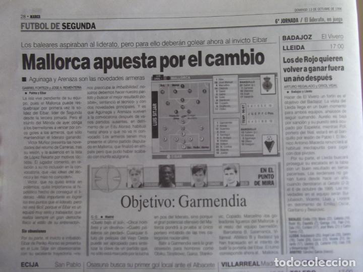 Coleccionismo deportivo: MARCA-1996-Nº17448-48 PAGINAS-RONALDO-ANTIC-SERRA FERRER-ESNAIDER-SANTI DENIA-F. VAZQUEZ-ROBSON - Foto 17 - 23618670