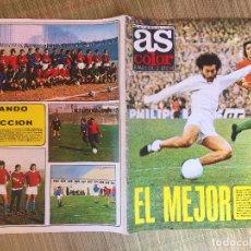 Coleccionismo deportivo: AS COLOR 193 - 28 ENERO 1975 - GCH1. Lote 210637955