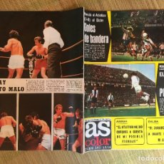 Coleccionismo deportivo: AS COLOR 246 - 3 FEBRERO 1976 - GCH1. Lote 210638075