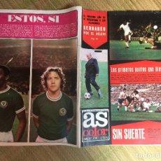 Coleccionismo deportivo: AS COLOR 225 - 9 SEPTIEMBRE 1975 - GCH1. Lote 210638318