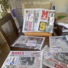 Coleccionismo deportivo: 32 LIGAS BLANCAS REAL MADRID. MARCA. RELIQUIA HISTÓRICA. Lote 210704144