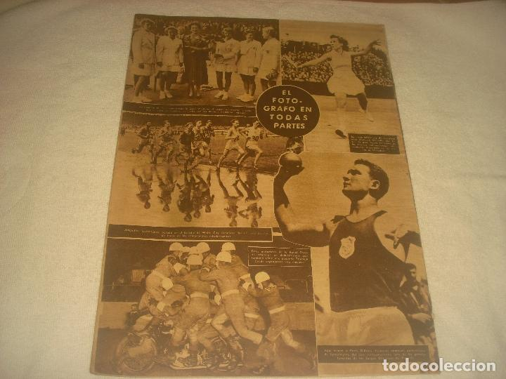 Coleccionismo deportivo: VIDA DEPORTIVA N. 351 . JUNIO 1952 . COPPI , EL GRAN CAMPEON DEL CICLISMO - Foto 2 - 210792842